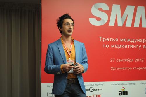 Репортаж с SMM 2013. Salvatore Russomanno