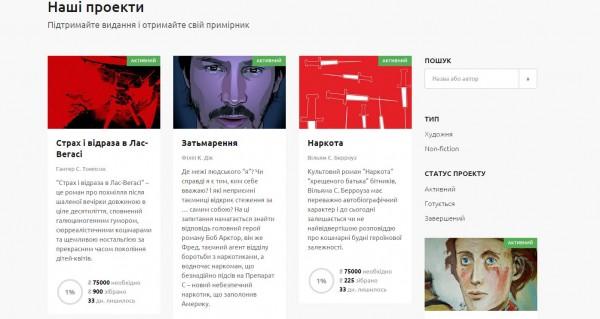 краудфандинговая платформа komubook