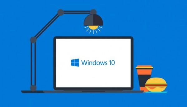 первое обновление windows 10