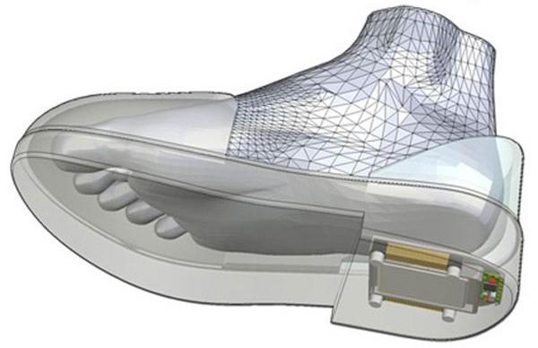 ботинки с gps системой