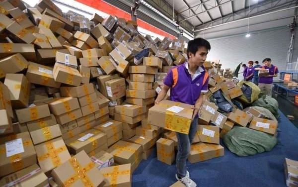 большая распродажа в Китае