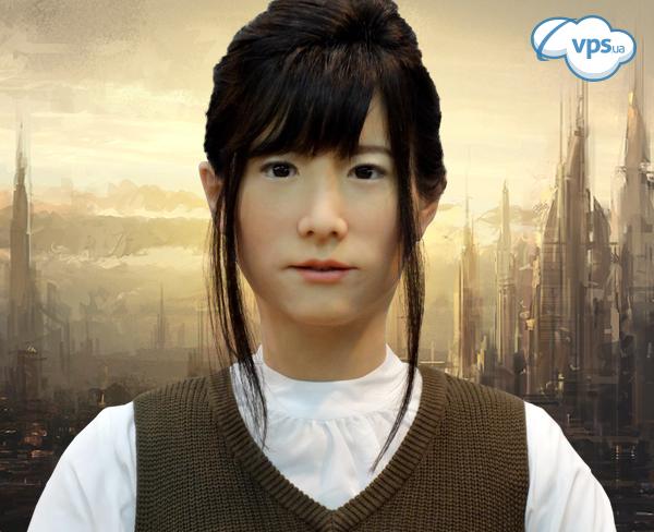 японская женщина робот
