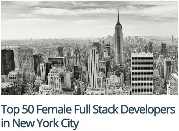рейтинг лучших разработчиков Нью-Йорка