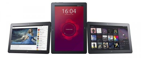 первый планшет на ubuntu