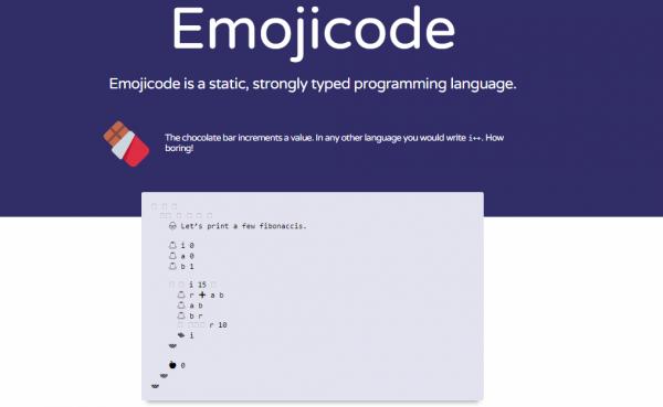 язык программирования Emojicode