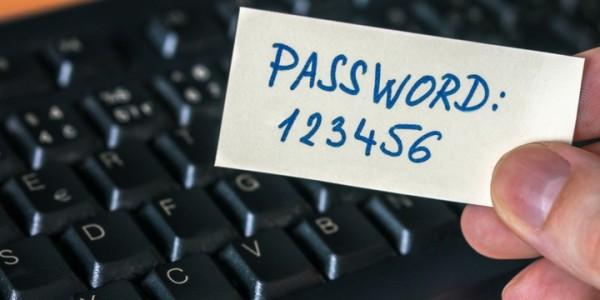 слабые пароли