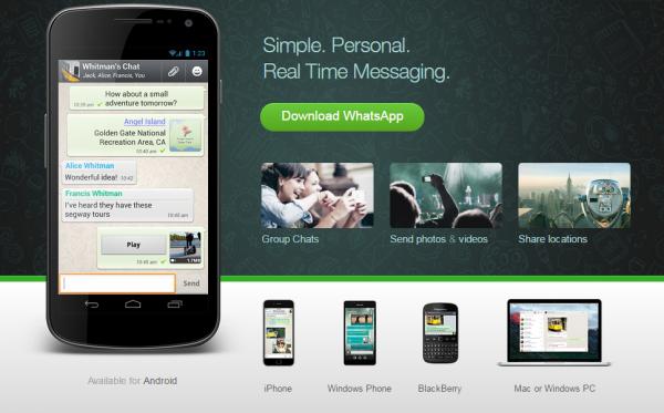 WhatsApp приложение