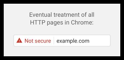 HTTP сайты будут помечаться опасными
