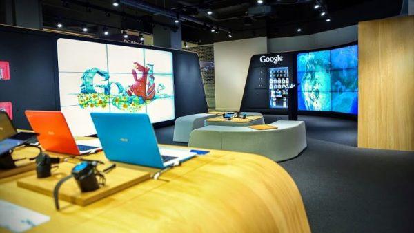 google выставочный зал