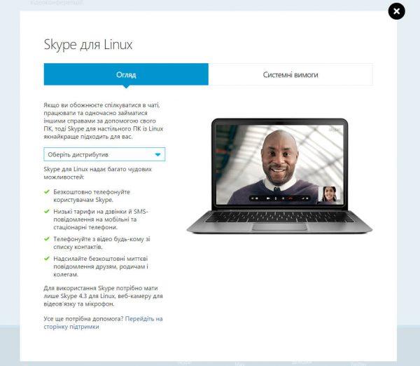 видеозвонки в linux