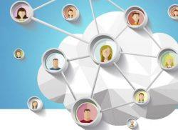 публичная сеть на облачном сервере