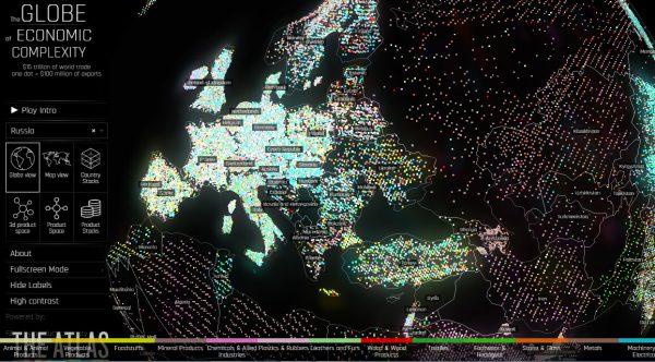 интерактивная карта торговли