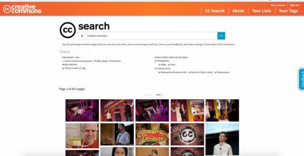 сервис для поиска бесплатных изображений