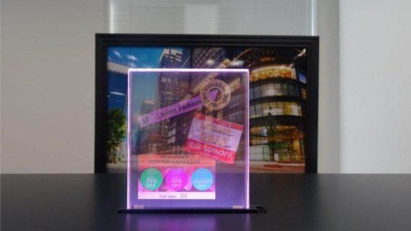 прозрачный экран