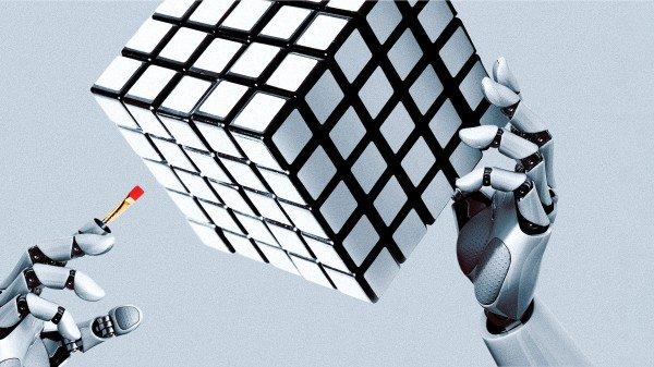 Роботы учатся обращаться с физическим миром