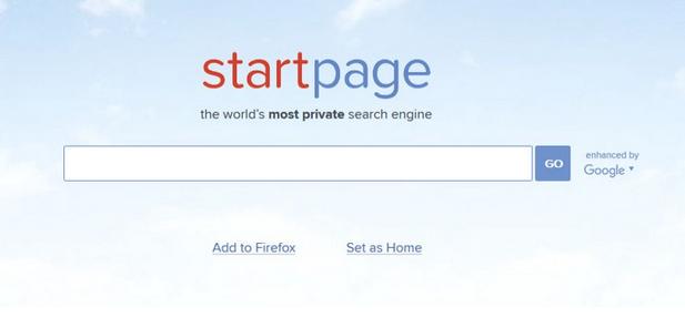 Приватный поисковик StartPage
