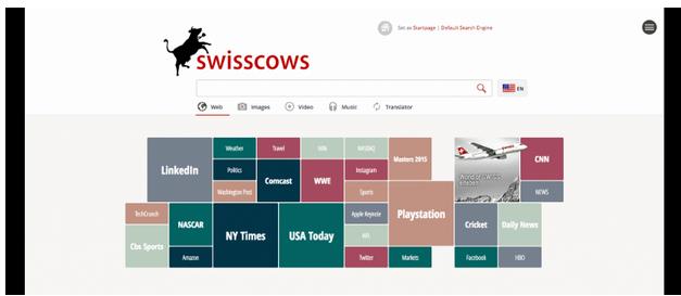 Приватный поисковик SwissCows
