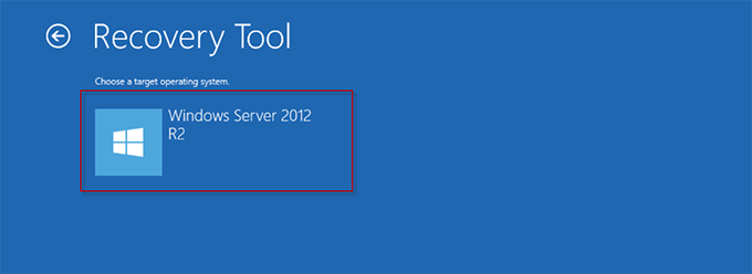Выбор Windows Server 2012 R2