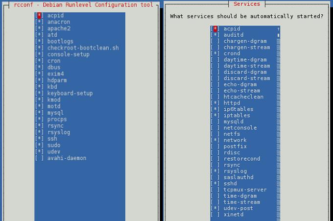 Удаление сервисов из автозагрузки в CentOS, Debian, Ubuntu