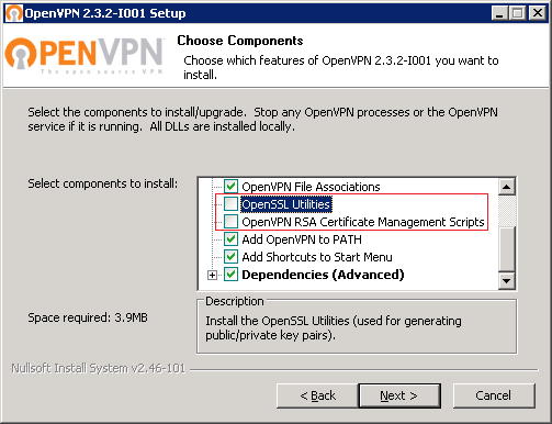 Конфигурационный файл openvpn сервера windows как создать свой вап хостинг