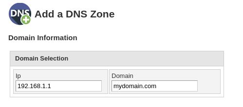 Приватные серверы имен - cPanel