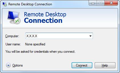Ввод IP адреса VPS сервера