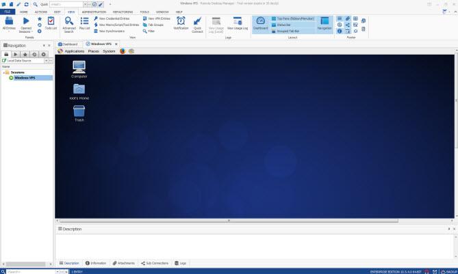 Подключение к удаленному рабочему столу VPS Windows