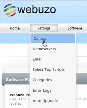 Настройка в русского языка в панели администратора Webuzo