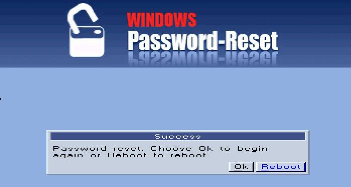 Графическая утилита для сброса пароля на Windows-сервере