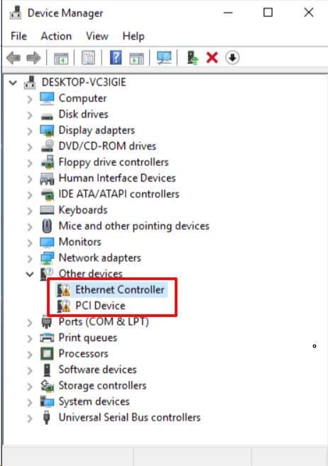 Диспетчер устройств в Windows 8.1 и Windows 10
