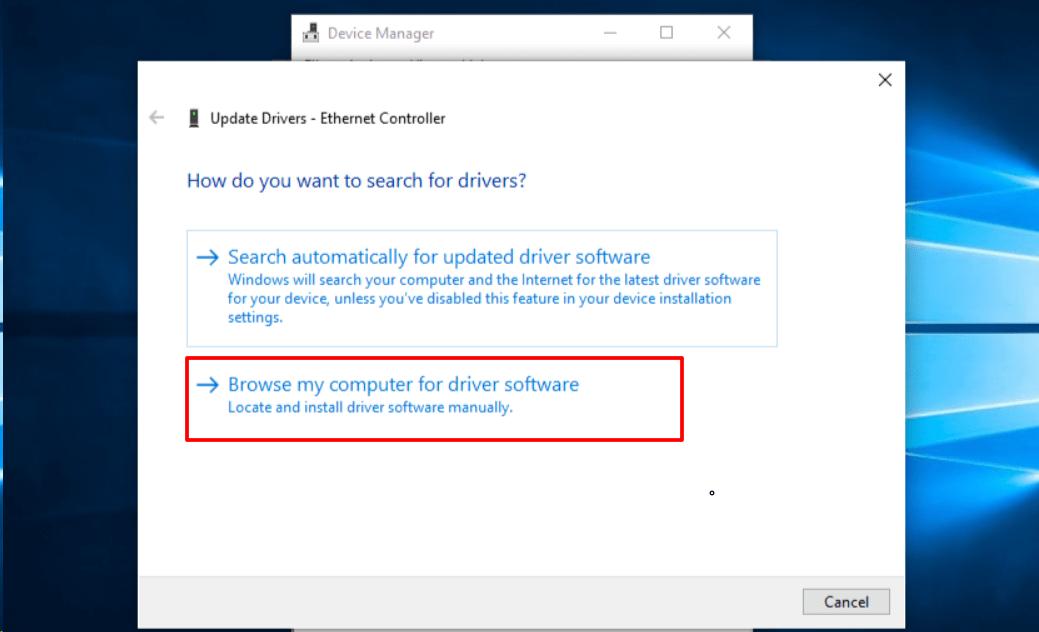 Способы установки драйверов в Windows 8.1 и Windows 10