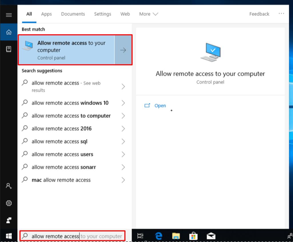 Инструмент по управлению удаленным доступом к серверу в Windows 8.1 и Windows 10